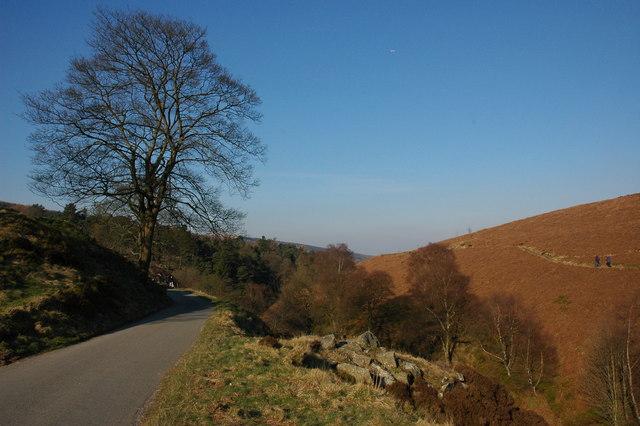 Road through the Goyt Valley