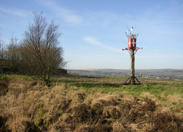 Mystery object, Old Lindley Moor