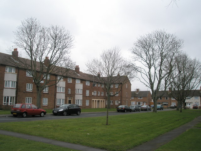 Flats in Stockheath Lane