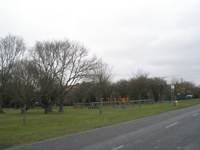 Children's play area off Stockheath Lane