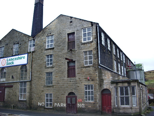 Lancashire Sock, Britannia Mill, New Line, Bacup