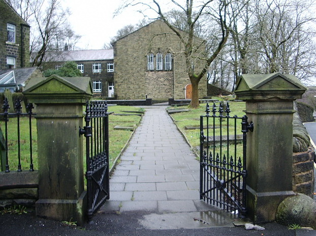 Newchurch Methodist Church, Entrance