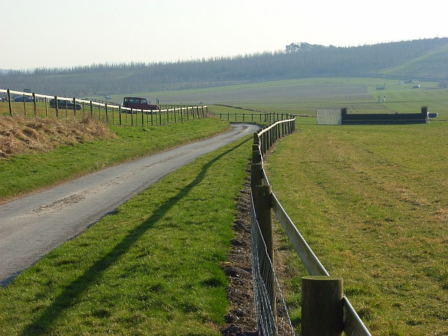 Barbury Castle point-to-point course