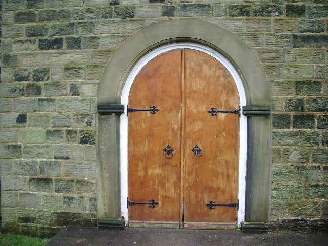 Newchurch Methodist Church, Doorway