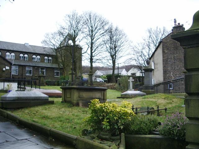 Sion Baptist Church, Cloughfold, Graveyard