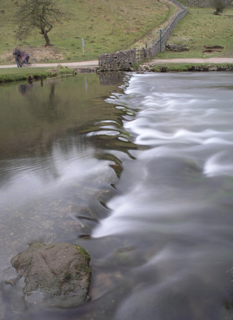 Dovedale weir