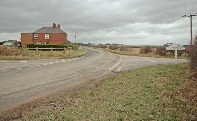 Riplingham Grange crossroads