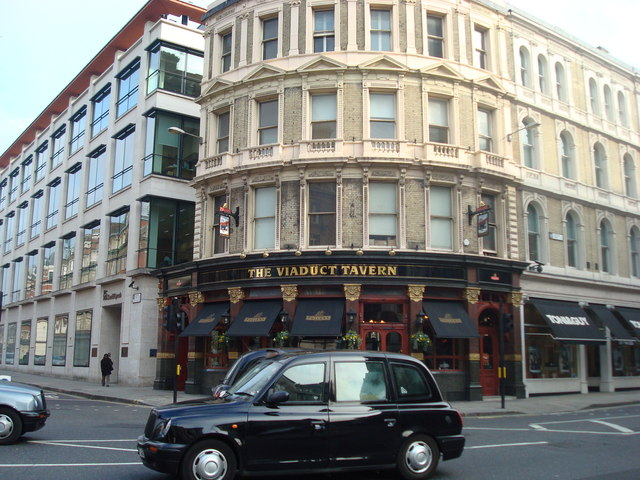 The Viaduct Tavern, Newgate Street