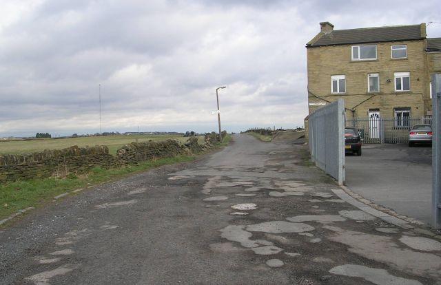 Bridleway - Tyersal Lane