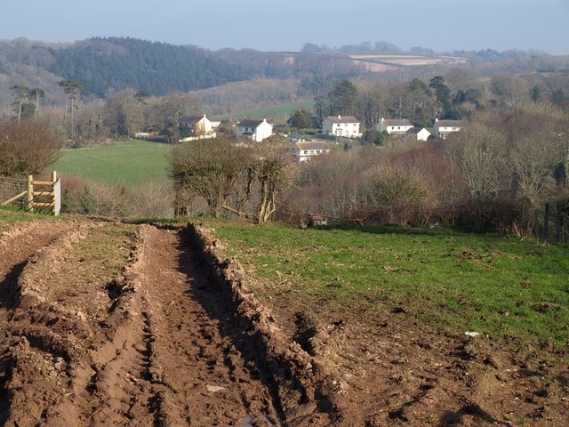 Rutted field, Hewster's Hill