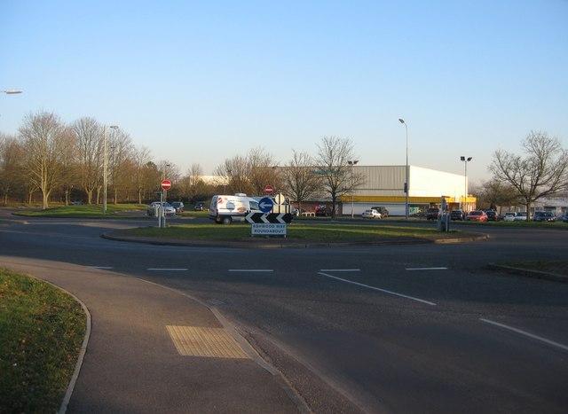 Ashwood Way roundabout