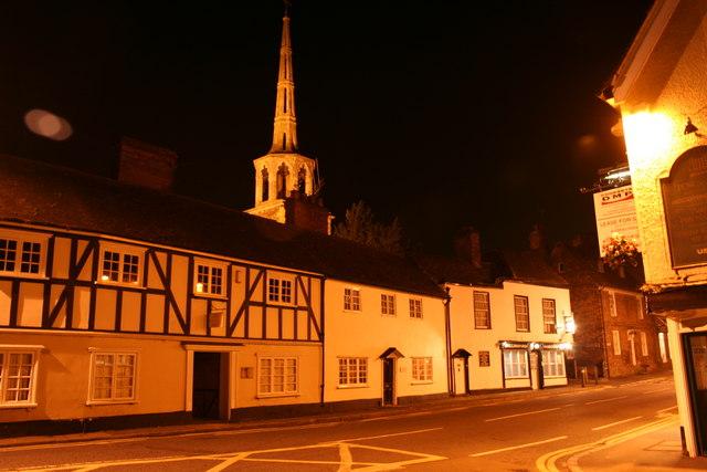 High Street at Night