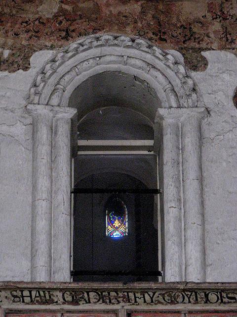 St Mary's church - detail