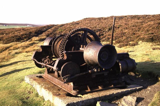 Steam winch, Sikehead Lead Mine