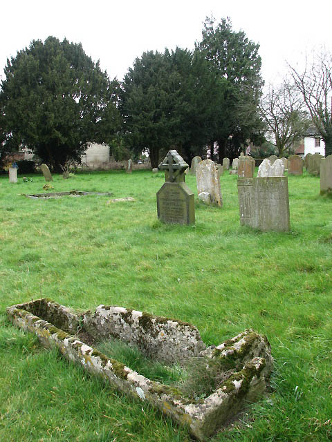 The church of St Peter & St Paul - churchyard