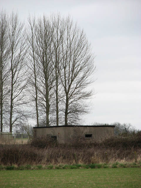Military building on disused airfield