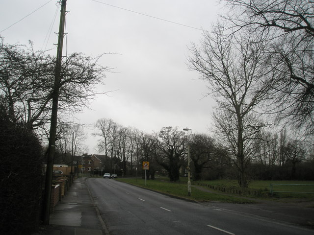 Stockheath Lane in February