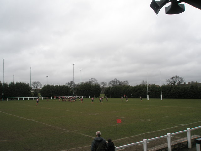 Colts rugby match at Havant RFC