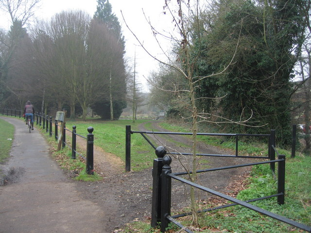Entrance to Empty Common allotments
