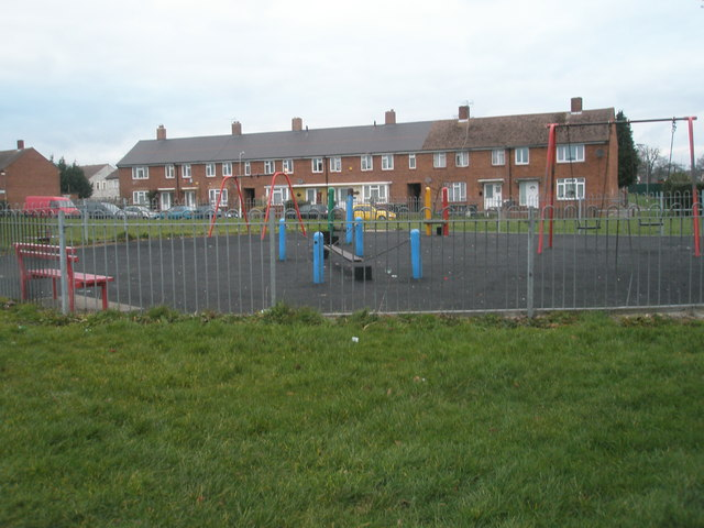 Children's play area near Chalton Crescent