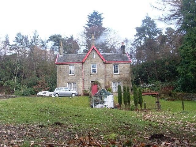 House by Mugdock Reservoir