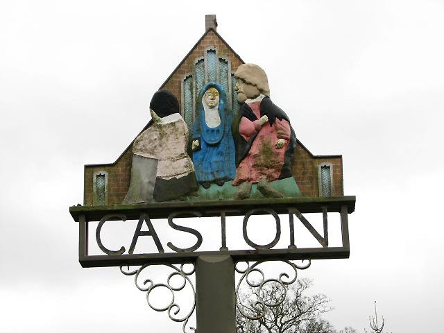 Caston - village sign