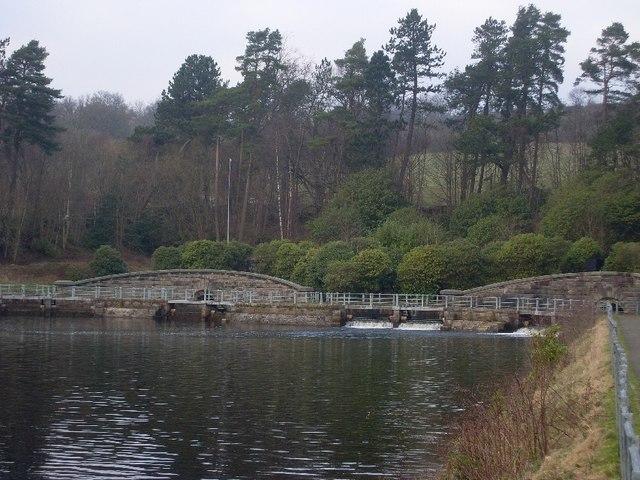 Walkway over Mugdock Reservoir