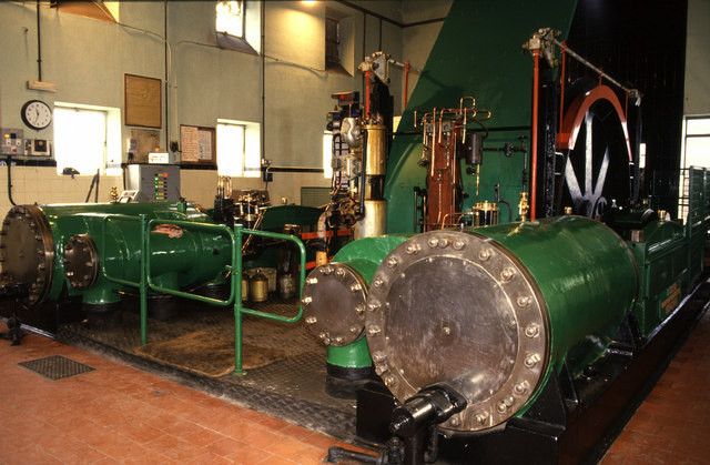 Donisthorpe Colliery steam winder