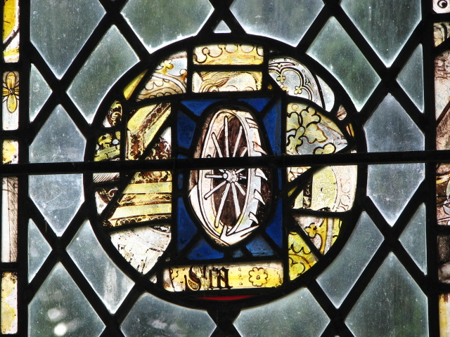 Church of the Holy Cross - medieval stained glass