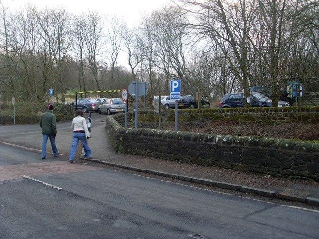 Car park at Mugdock Country Park