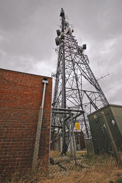 High Hunsley radio mast