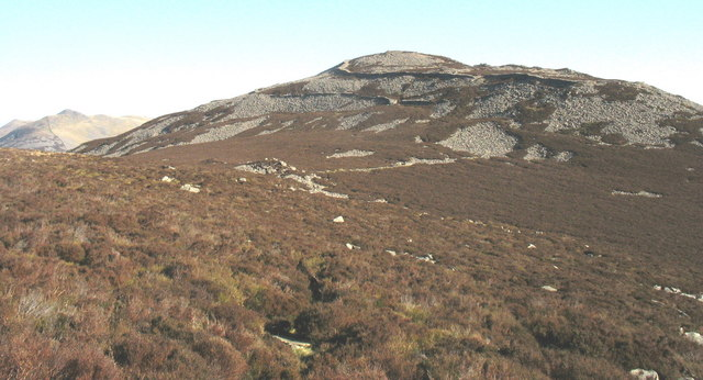 View across the col in the direction of Tre'r Ceiri