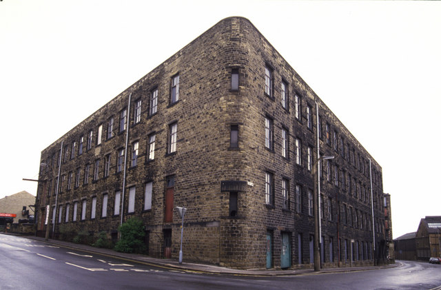 Priestroyd Mill, Huddersfield