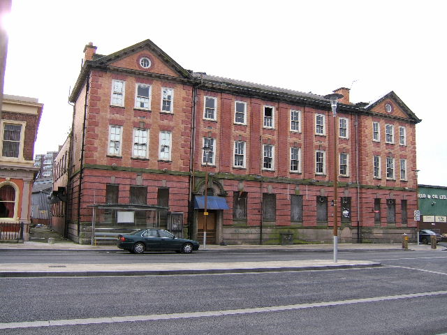 Disused Building, Chester