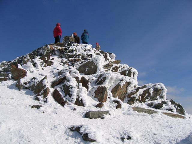 Yr Wyddfa/Snowdon summit