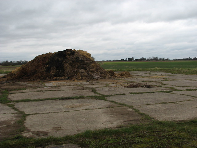 The former Deopham airfield