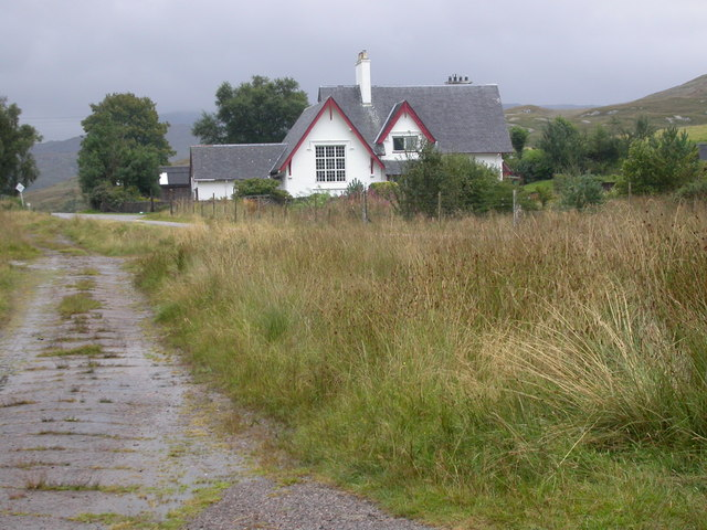The old Schoolhouse at Claggan