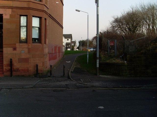 Small lane just off Whitecrook Street