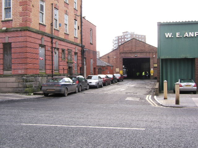 Car Street, off Station Road, Chester