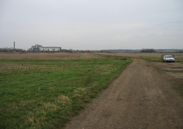 Farm track & hospital