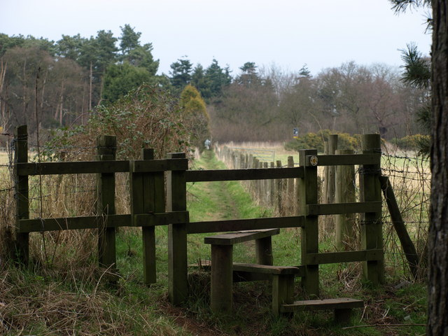 The Stile and Footpath beyond