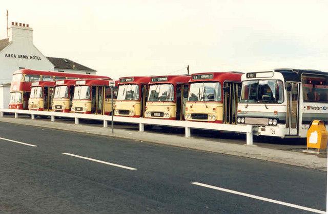 Bus Depot Girvan