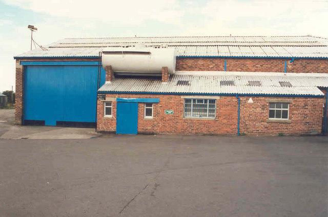 Bus Depot Yard
