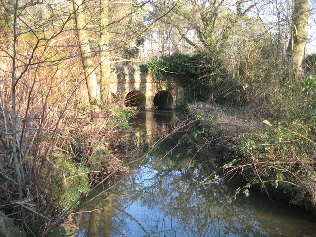 Clasford Brook at Clasford Bridge