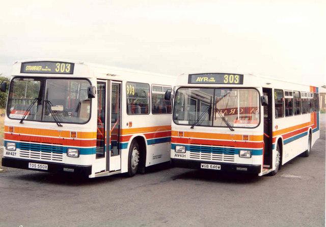 Stagecoach Buses Girvan Depot