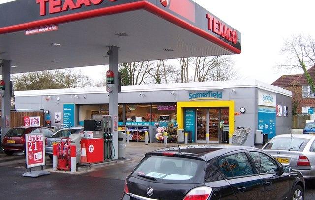 Somerfield filling station-Fareham