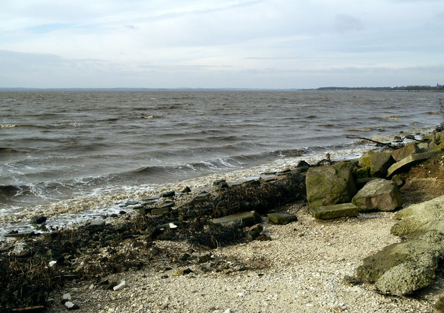 The River Humber bank west of Hessle