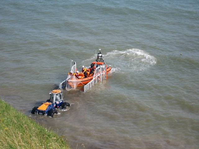 Launch of the lifeboat