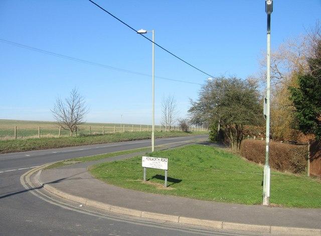 Kenilworth Road meets Roman Road