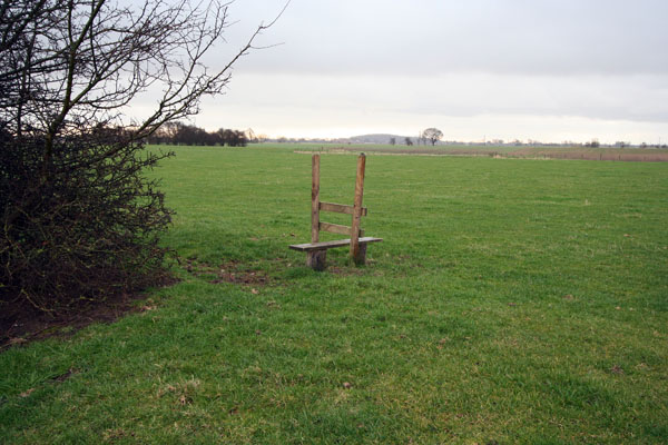 A stile all on its own